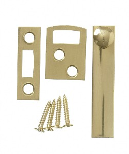 SOLID BRASS SURFACE BOLT